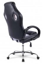 Fotel biurowy gamingowy kubełkowy PRO Racer DS - czarno/szary