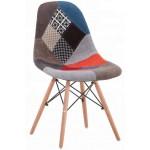 Krzesła tapicerowane materiałowe