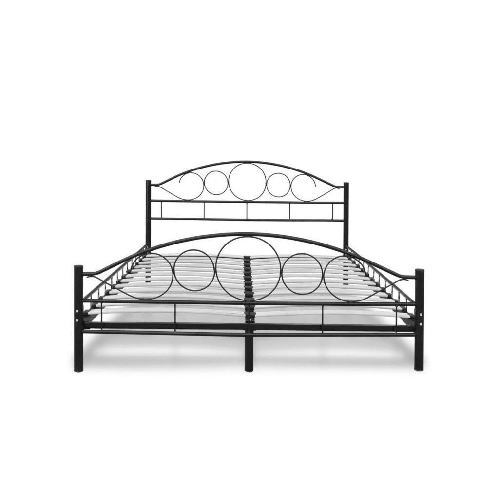 Łóżka metalowe